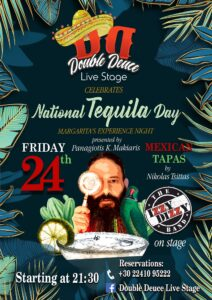 NARTIONAL TEQUILA DAY