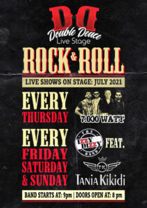 July1 Live Shows at Double Deuce Live Stage
