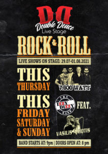 July2 Live Shows at Double Deuce Live Stage