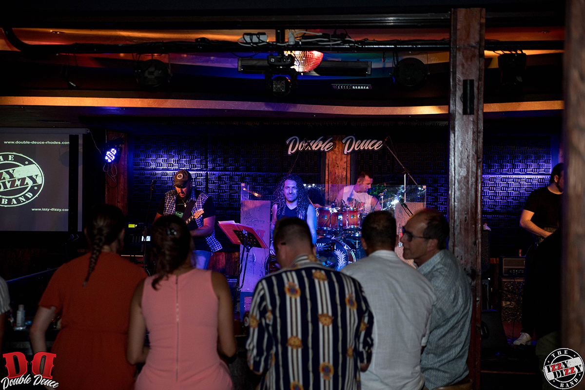 The Izzy Dizzy Band Feat. Marianna Seas • Double Deuce Live Stage