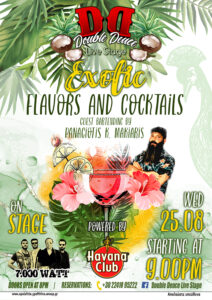EXOTIC FLAVORS AND COCKTAIL EVENT